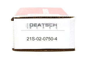 DeatschWerks Fuel Injectors Top Feed 750cc COBB Spec ( Part Number:DET 21S-02-0750-4)