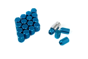Work RS Lug Nuts Blue 12x1.25 ( Part Number:WOR RS-LUG-X1.25 BLUE)