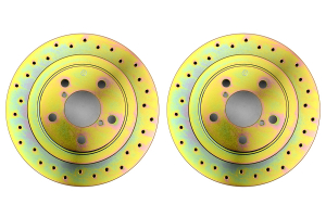 Brembo Sport Brake Rotor Pair Drilled Rear ( Part Number:  33S50018)