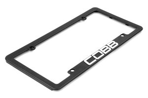 COBB Tuning License Plate Frame ( Part Number: CO-PFRAME-NEW)
