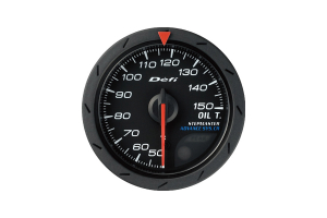 Defi Advance CR Oil Temperature Gauge 52mm ( Part Number: DF08302)