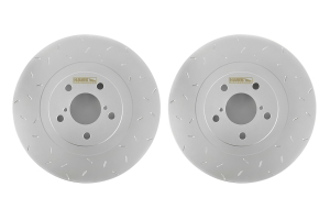 Hawk Quiet Slot Front Rotor Pair  ( Part Number: HUS732-G)