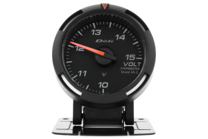 Defi White Racer Volt Gauge 52mm ( Part Number:  DF07006)