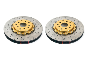 DBA 5000 Series Drilled/Slotted Rotor Pair Front ( Part Number: 5654GLDXSG)