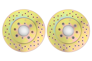 Brembo Sport Brake Rotor Pair Drilled Front ( Part Number: 33S50039)