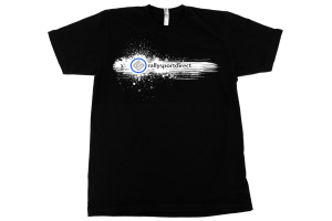 RallySport Direct Splash T-Shirt Black Mens (PREMIUM)  ( Part Number: 330)