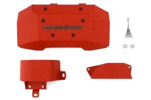 Nameless Performance Engine Cover Kit Wrinkle Red  ( Part Number: RSPD030)