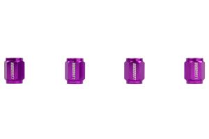 KICS Leggdura Racing Purple Valve Cap ( Part Number: WCKIVP)
