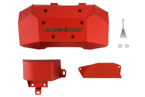 Nameless Performance Engine Cover Kit Anodized Red ( Part Number: RSPD032)