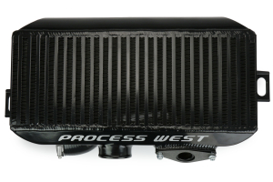 Process West Top Mount Intercooler Black ( Part Number:  PWTMIC00B)