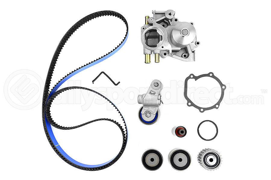Gates Racing Timing Belt Kit w/ Water Pump ( Part Number:GAT TCKWP328BRB)
