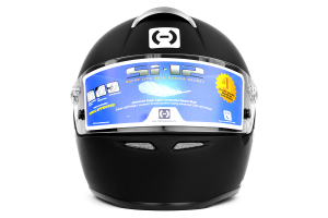 HJC Si-12 Helmet Snell SA2010 Large Black ( Part Number: 6BL10)