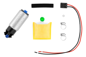 DeatschWerks DW300c Series Fuel Pump w/ Install Kit Universal and Mounting Clips ( Part Number: 9-309-1000)