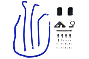 Mishimoto Baffled Oil Catch Can Blue  ( Part Number: MMBCC-WRX-15BL)
