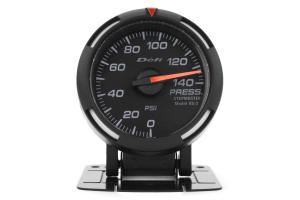 Defi White Racer Pressure Gauge Imperial 52mm 140 PSI ( Part Number: DF06603)
