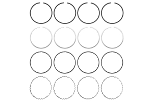 Cosworth Piston Ring Set 92.5mm ( Part Number: 20005161)
