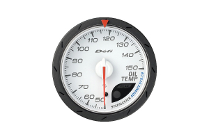 Defi Advance CR Oil Temperature Metric White 60mm Gauge  ( Part Number: DF09101)