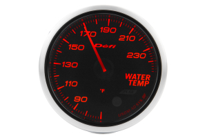 Defi Advance BF Amber Water Temperature Imperial 60mm Gauge ( Part Number:  DF10504)