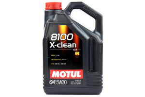 Motul 8100 X-Clean 5W30 Engine Oil 5L ( Part Number: 102020)