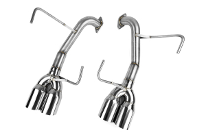 Nameless Performance Muffler Delete Single Wall 3.5in Polished Tips ( Part Number:  RSPD002)