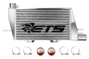ETS Front Mount Intercooler Silver Core w/ Stencil  ( Part Number:  200-11S)