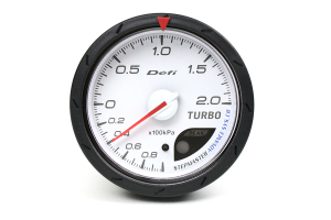Defi Advance CR Boost Metric White 60mm Gauge ( Part Number:  DF08601)