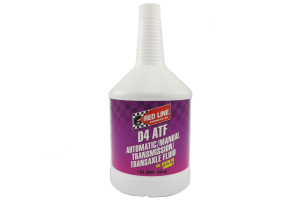Red Line Automatic Transmission Fluid D4 ATF 1 Quart ( Part Number: 30504)
