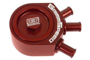 GrimmSpeed Air Oil Separator Red ( Part Number: 078016R)