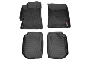 Weathertech Floorliners Black Front and Rear ( Part Number: 44097-1-2)