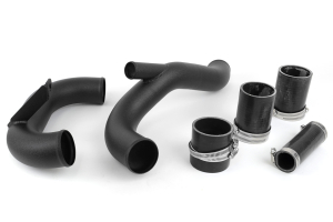AMS Lower Intercooler Pipe Black ( Part Number:  AMS.04.09.0003-2)