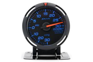 Defi Blue Racer Boost Gauge Imperial 52mm 30 PSI ( Part Number: DF06501)