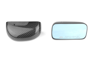 APR Carbon Fiber Mirrors Formula GT3 Black Base ( Part Number: CB-410032B)