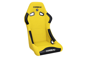 Corbeau Forza Yellow Cloth Fixed Back Seat ( Part Number:COR 29103)