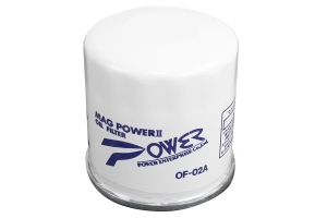 Power Enterprise Mag Power 2 Oil Filter  ( Part Number:POW OF-02A-2)