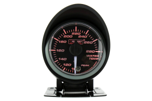 ProSport Water Temperature Gauge Electrical w/Sender Amber/White 52mm ( Part Number:  216SMWAWTWNCL270-PK.F)