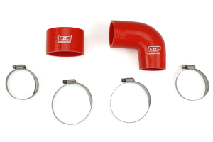 Grimmspeed Top Mount Intercooler Silicone Coupler Kit Red ( Part Number: 090108)