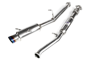 Invidia N1 Cat Back Exhaust Titanium Tip ( Part Number: HS02SW1GTT)