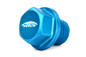 KICS Magnetic Oil Drain Plug Bolt M14X1.50 Blue  ( Part Number:  WMAG2)