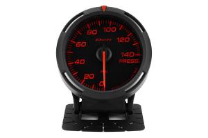 Defi Red Racer Pressure Gauge Imperial 60mm 140 PSI ( Part Number: DF11602)