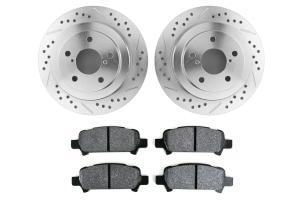 Hawk Performance Rotors w/ PC Pads Kit Rear ( Part Number: HK5139.434Z)