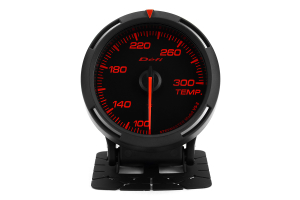 Defi Red Racer Temperature Gauge Imperial 60mm 100-300F ( Part Number: DF11702)