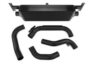 Process West Front Mount Intercooler Kit Black ( Part Number:  PWFMIC04B)