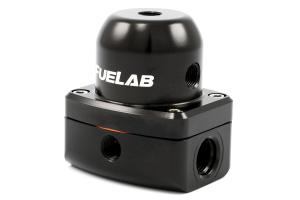 Fuelab Black EFI Adjustable Fuel Pressure Regulator In-Line ( Part Number:  52501-1)