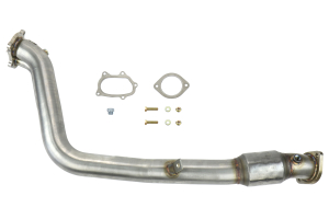 Grimmspeed LIMITED Catted Downpipe 3in ( Part Number:  007060)