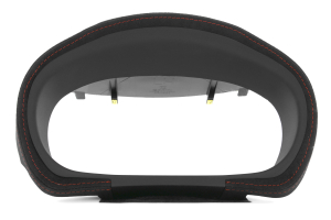 JPM Coachworks OEM Cluster Hood Black Alcantara Red Stitching  ( Part Number: 1008A40-R)