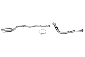 Turbo-Back Exhaust Stainless Steel Tip System 10-14 WRX Hatchback ( Part Number: SSTBS08-14WRXHTH)