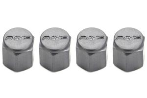 Volk Racing Rays Valve Stem Caps Gunmetal ( Part Number: WVALGM2)