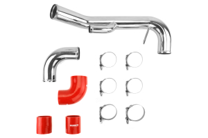 Mishimoto Lower Intercooler Pipe Red ( Part Number:  MMICP-EVO-10LRD)