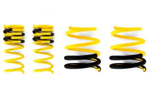 Racecomp Engineering Yellow Lowering Springs ( Part Number: VA360STI)