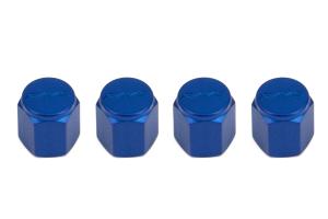 Volk Racing Rays Valve Stem Caps Blue ( Part Number:  WVALBL2)